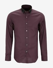 New Lanvin Check Shirt with Grosgrain Collar RRP £390 BNWT