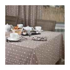 Nappe enduite Perles taupe