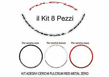 adesivi cerchi mtb fulcrum red metal zero stikers rims 26'' - 29'' sticker wheel