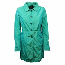 C0364 giacca donna UP TO BE PRIMULA verde acqua trench jacket woman