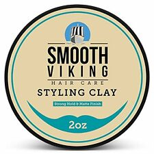 Hair Styling Clay For Men - Best Pliable Molding Cream With Strong Hold & Mat..