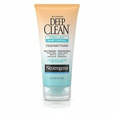 Pack Of 3 Neutrogena Deep Clean Long - Last Shine Control Cleanser / Mask - 6..