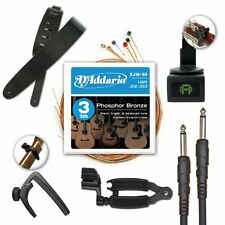 D Addario And Planet Waves Acoustic Guitar Accessories Pro Pack