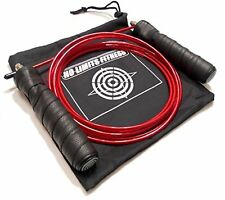 Nolimitstm - Quality Adjustable Jump Rope, Best For Crossfit Training - Mma -..