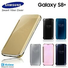 Luxury Mirror Smart View Flip Leather Case Cover For Samsung Galaxy S8 PLUS S8+
