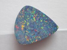 8.35 ct Australian Opal Doublet w/ Queensland Boulder Backing # TAO 3039 B