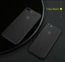 Ultra Thin 0.3mm PP Case for iPhone 7 & 7 Plus - Clear Black