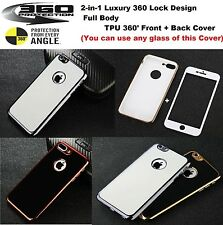 Luxury 360° Full Cover Shockproof 3D Soft TPU Case for Apple iPhone 6 7 7Plus