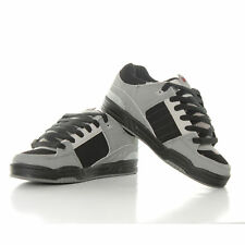 Globe Fusion Skate Shoes Trainers Grey Black Red
