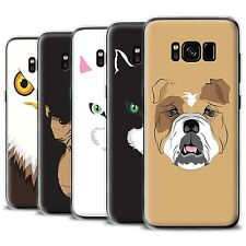 STUFF4 Gel/TPU Phone Case for Samsung Galaxy S8 Plus/G955 /Animal Faces
