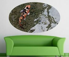 Koi Water Mural Fish Pond Wall stickers Living room Sticker 11C160