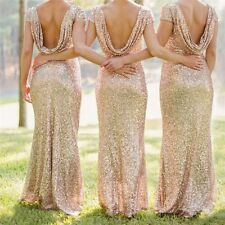 High Quality Evening Party Dress Beading Sheath Formal Gown Sparking Women Europ