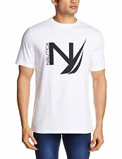 Nautica Mens Cotton T-shirt (Flat 50% OFF) -8ZM