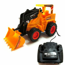 Wired Remote Control Battery Operated JCB Crane Truck Toys
