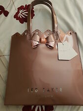 TED BAKER LARGE BRONZE TOTE BAG BNWT