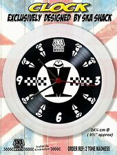 Ska 2Tone Clocks. Exclusive Madness Specials Selecter Bad Manners etc Ideal gift