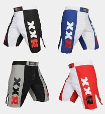 XXR Dual-Panel MMA Fight Shorts UFC Cage Fight Grappling Muay Thai Boxing