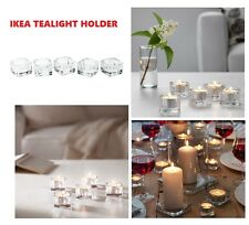 IKEA GLASIG Glass TeaLight Holder Party Candle Holders Wedding Tealight 38mm****