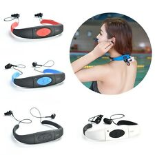 Waterproof Sports Headset MP3 Player FM Radio Swimming Surfing Diving Cool 4-8GB