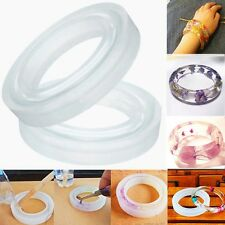 Silicone Mold Casting Mould For Resin Bangle Bracelet Jewelry Making DIY ToolNew