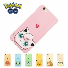 Hot For iPhone6 6S 7Plus Case Cover Cartoon Collection Pokemon Pikachu Hard Back