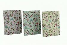 Shabby Chic Vintage Floral A6 Hardback Cover Notebook Lined Paper Journal Ideas