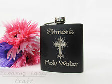 Personalised Holy Water Celebration Hip Flask  HF35