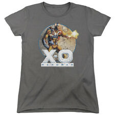 X-O XO Manowar Comic VINTAGE MANOWAR Cover Licensed Women's T-Shirt All Sizes