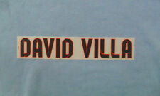 ''DAVID VILLA'' Official Barcelona Football Shirt Away Junior Name Block 2012/13