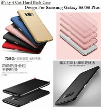 iPaky 4 Cut Rubberized Matte Hard Back Case Cover For Samsung Galaxy S8 /S8 Plus