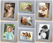 PERSONALISED Silver DADDY PHOTO FRAMES Gift Ideas for Fathers Day BIRTHDAY On