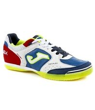 SCARPE CALCETTO / FUTSAL INDOOR JOMA TOP FLEX 716 WHITE-ROYAL SCONTO 15%