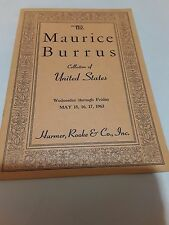 Philatelic Stamp Books The Mauricio Burrus collection of the United States 1963
