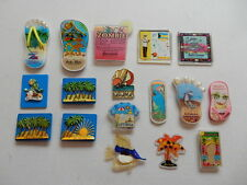 One Selected Plastic Souvenir Fridge Magnet Mostly from West Indies Caribbean