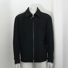 New Maison Martin Margiela Replica Wool Jacket Leather Elbow Patches Size 46
