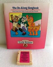 NEW 92 PLAYSKOOL TEDDY RUXPIN THE DO-ALONG SONG BOOK & CASSETTE CARTRIDGE SET