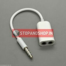 3.5mm Audio Headphone Splitter Cable for Samsung Nokia Sony LG HTC Motorola Leno