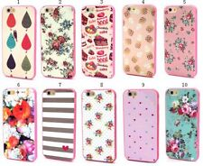 Vintage Design Hard Rigid Plastic Case Cover For Apple iPhones Samsung Galaxy