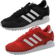 Adidas ZX 700 men's athletic retro sneakers black or red casual shoes suede NEW