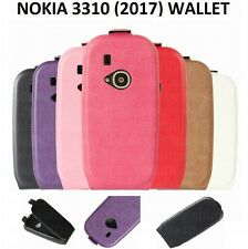 Luxury Magnetic Flip Cover Stand Wallet Leather Case For NOKIA 3310 (2017) UK