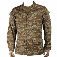 New Bulle Desert Tigerstripe Tactical Combat BDU Shirt Ripstop Cotton