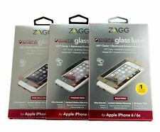 Zagg InvisibleShield Luxe Glass & Polycarbonate HD Screen Protector iPhone 6s 6