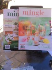 Mingle magazine by Stampington & Co. (lot of 2)