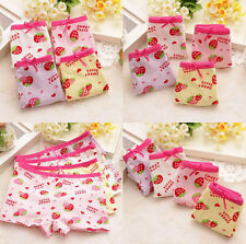 Girls New Children Underpants Shorts Cute Boxer  Knickers Briefs Kids Underwear