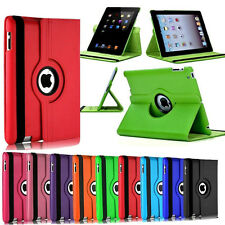 Rotating 360° Soporte Carcasa Funda Cubierta Cover Para iPad Air Mini Pro 2 3 4