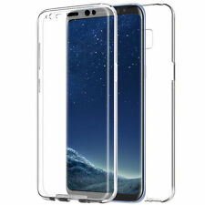 Clear 360 Full Case Cover for Samsung Galaxy S8 S8 Plus No Tempered Glass Need