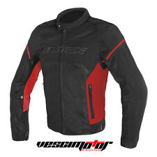 Giacca Dainese Air Frame D1 Tex Jacket Black/Red/Red (Nero/Rosso/Rosso)