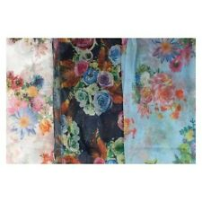 DONNA SCARF COLLECTION STAMPA FLOREALE sciarpa stile - 91325