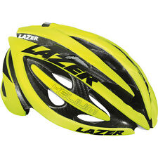 Lazer Helium Helmet Bicycle In Mould Ventilated Flash Yellow