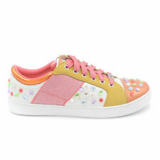 Lelly Kelly sneakers california arancio brillantini art.lk6882
